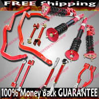 Fits 240sx S14 Toe+traction Rod+control Arm+full Suspension Coilover +sway Bar