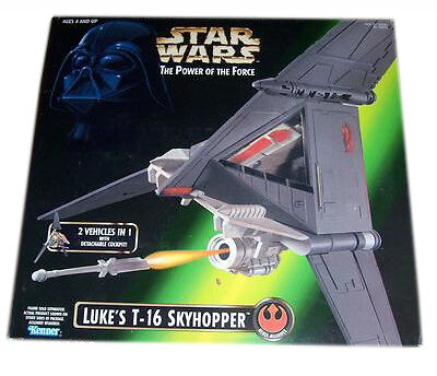 Star Wars POTF Power Of The Force Lukes T-16 Skyhopper