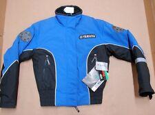 New NWT Yamaha Womens Snowmobile Sheila Jacket Medium Black Blue SMB-030SL-BL-MD