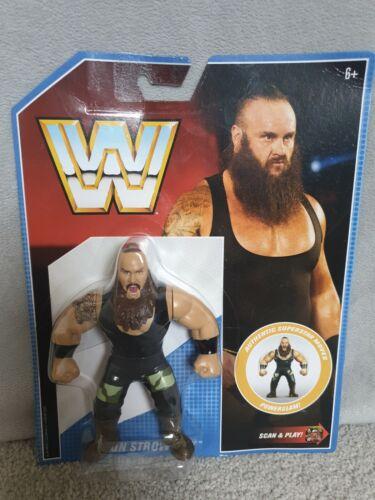 WWF Rétro WWE Mattel Hasbro Wrestling Figure Braun strowman Series 8 NEUF