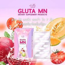 Gluta MN by MN Skincare Natural Whitening Skin Face Aura Natural 30 capsules