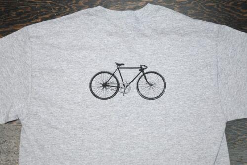 Vintage Racycle Bicycle T Shirt Retro Antique Pacemaker Track Bike Flying Merkel