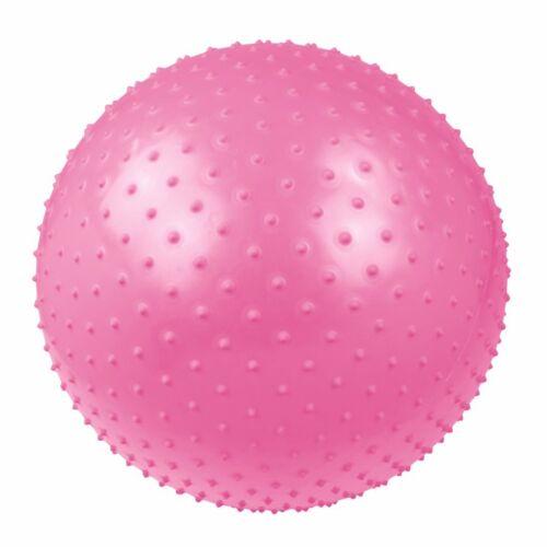 Massageball Ø 55 cm Noppen-Ball Gymnastikball Fitnessball + Pumpe & Ballschale