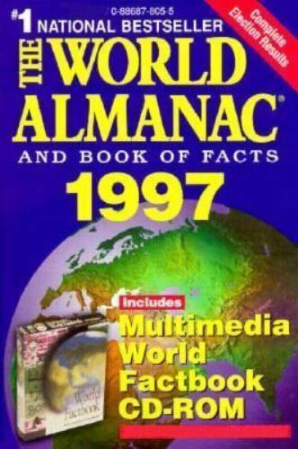 The World Almanac and Book of Facts, 1997 by World Almanac Editors
