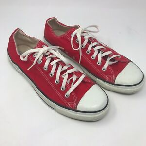 fdcca47b875c Converse Chuck Taylor All Star Ox Low Skate Shoes - Red - Men s 11 ...