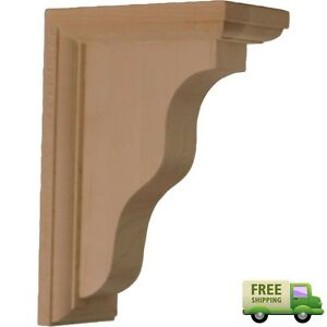Details About Decorative Floating Rubber Wood Bracket Hamilton Style Design Wall Shelf Support