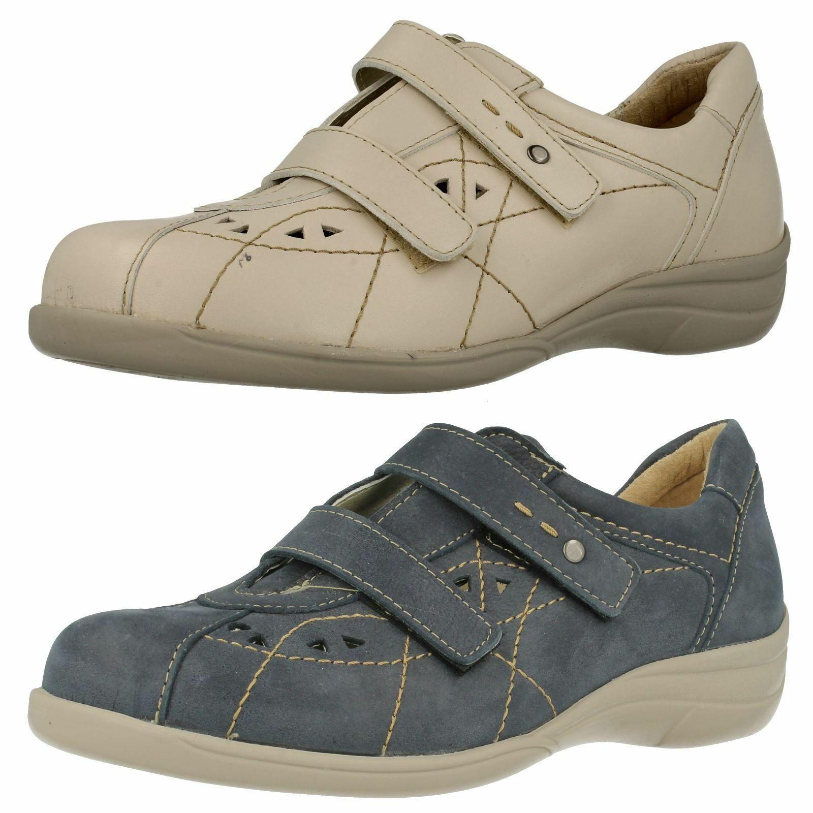donna 6848  cynthia in pelle marina e -3e larghezza Fit DB scarpe facile vendita  più ordine