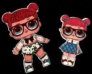 Original Rare LOL Surprise Dolls Glitter Series 1 TEACHERS PET Authentic Big Sis