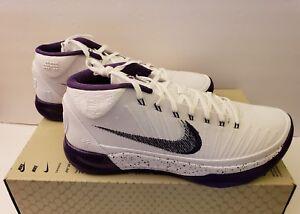 4a0e2c3847e1 Nike Kobe AD Size 10 New 922482-100 White Court Purple