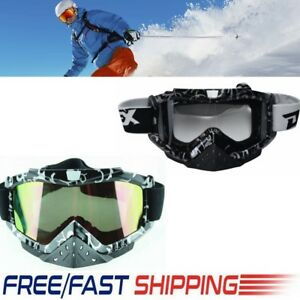 1e228e38a43c Image is loading Snow-Googles-Windproof-UV400-Motorcycle-Snowmobile-Snow-Ski -