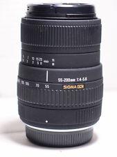 Sigma 55-200mm (110-400mm)  AF DC ZOOM LENS FOR olympus 4/3 E400 E420 E520 E3 E5