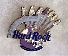 HARD ROCK CAFE JAKARTA 7TH ANNIVERSARY SEVEN GUITAR NECKS GUITAR PIN # 3817