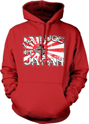 I/'m Huge In Japan Big Popular Japanese Flag Penis Size Height Hoodie Sweatshirt