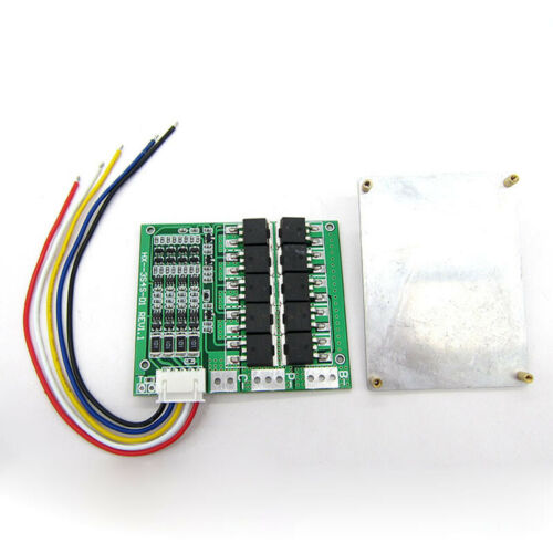 4S 100A 14.8V Lithium Li-ion 18650 Battery Pack BMS Protection PCB Board Balance