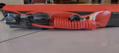 Red and faux Woodgrain Body Boogie Board Morey Mach 11 Tube Rail