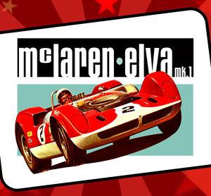 Mclaren Mk1 Vintage Race Car Can Am Racing T Shirt Mc Laren Race Road Racing Ebay