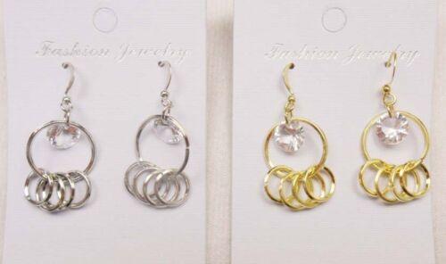 A-010 vente en gros bijoux lot 10 paires Mixte Style Goutte Fashion Dangle Earrings