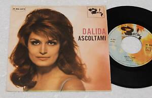 DALIDA-7-034-ESCUCHAR-A-ME-ORIGINAL-ITALIA-1965-EX