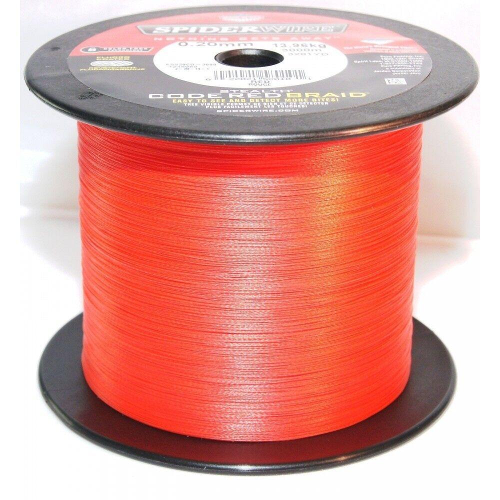 Spiderwire Code Red 3000 m Spule / 0,10mm / ( /m)