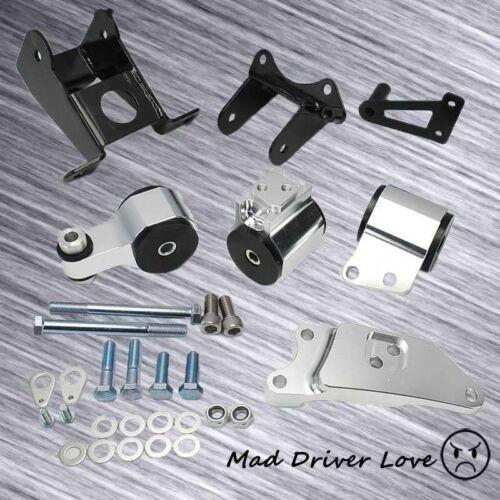 For Honda Civic 06-11 Si FG FA FD Racing Billet Aluminum Motor Swap Mount Kit