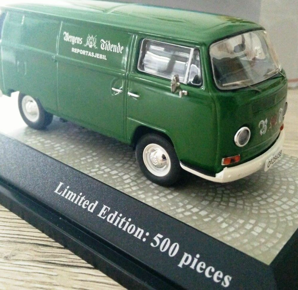 SCARCE PREMIUM CLASSIXXS VW T2 VAN SCANDI PROMO BERGENS 1 43 1 500 MINT IN BOX