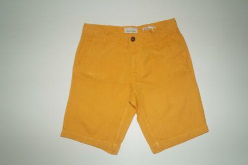 Gr J 136 1119 HART /& BROS senf gelb Herren Leinen Shorts 50