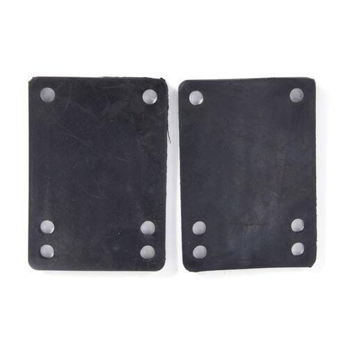 2pcs 3mm Soft Skateboard Riser Shock Pads Longboard Shock pads HF FD