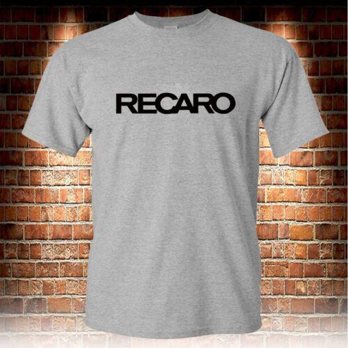 Recaro Men/'s Grey T-shirt S to 3XL