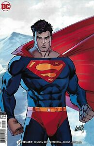 Superman-Comic-Issue-9-Limited-Variant-Modern-Age-First-Print-2019-Bendis-Reis