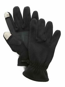 Saddlebred-Men-039-s-Fleece-Gloves-with-Touch-Technology-Black