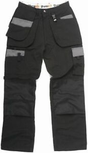 Durakit-SECONDS-Black-Trousers-W40