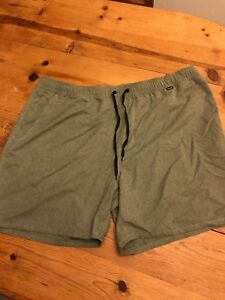 14ebeafe8da4e New Hurley Men's Size XXL Heather Volley Shorts MBS0007600 00A Board ...