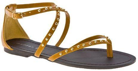 $50 MADDEN GIRL Maliboo Sandals NEW Yellow Sizes 6-10