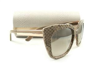 Jimmy Choo Sunglasses NITA/S Nude Leather Gold J80NQ New Authentic 762753837219 | eBay