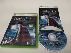 Harry Potter and the Half-Blood Prince Microsoft Xbox 360 Complete Very Good Con