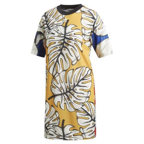 adidas ORIGINALS X FARM WOMEN/'S GRAPHIC TEE DRESS FRUIT DEADSTOCK RARE CASUAL