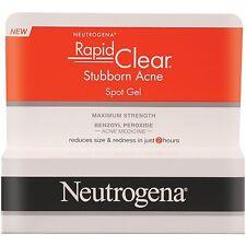 Neutrogena Rapid Clear Stubborn Acne Spot GEL 1 Ounce 12 per Case.