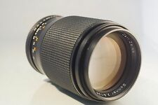 CARL ZEISS SONNAR CONTAX YASHICA 135mm f 2.8 LENS. EXCELLENT. FREE SONY ADAPTER