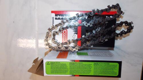 "2  90PX044G Oregon 12/"" chainsaw chain 3//8 LP .043 gauge 44 DL replace 61PMM3 44"