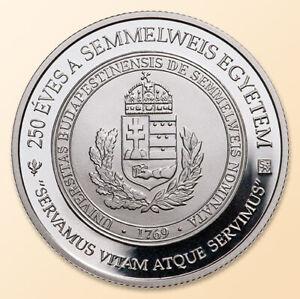 Hungary-2019-Semmelweis-University-SOTE-SE-10000-Ft-Proof-Silver-UNC