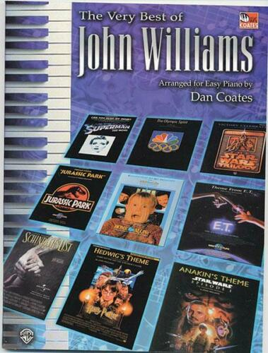The Very Best Of John Williams Easy BEGINNER Piano Learn to Play MUSIC BOOK FILM