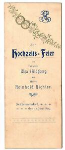 Mappa-Matrimonio-Celebrazione-1899-Seifhennersdorf-Programm-Menu-D7