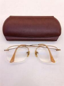 8114b33890a Image is loading Antique-SC-U-S-A-Wire-Frame-Bifocal-Eyeglasses-with-