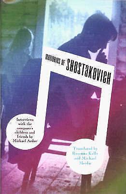1 of 1 - MEMORIES OF SHOSTAKOVICH. , Ardov, Revd Michael. , Used; Very Good Book