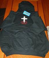 Jesus Heals Pullover Hoodie Black Small Sweatshirt Christian Kerusso Apparel