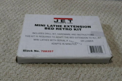 Jet Mini Lathe Extension Bed Retro Kit