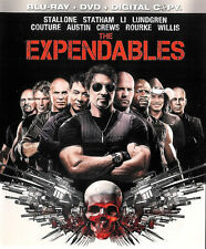The Expendables ~ 3-Disc Blu-ray + DVD + Digital Copy ~ FREE Shipping USA