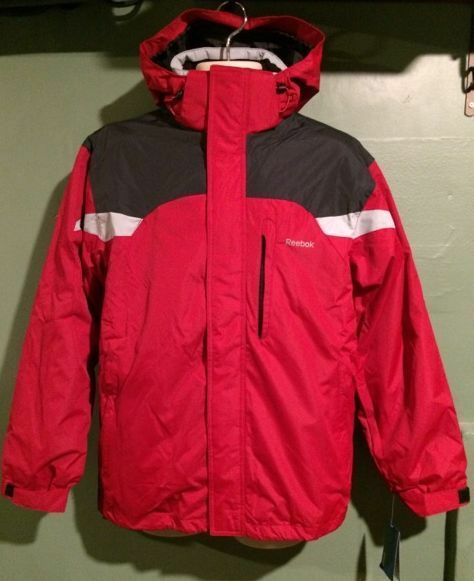 NWT Herren REEBOK 2 IN 1 WINTER COAT
