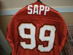 1c5d6add734 Tampa-Bay Buccaneers Warren SAPP # 99 NFL Reebok On Field Jersey Men ...