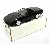 6655 Amt Ertl Dealer Promo Car 1995 Corvette Convertible - Black - 1/25 Scale